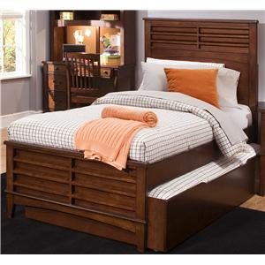 Liberty Furniture Chelsea Square Youth Full Panel Bed