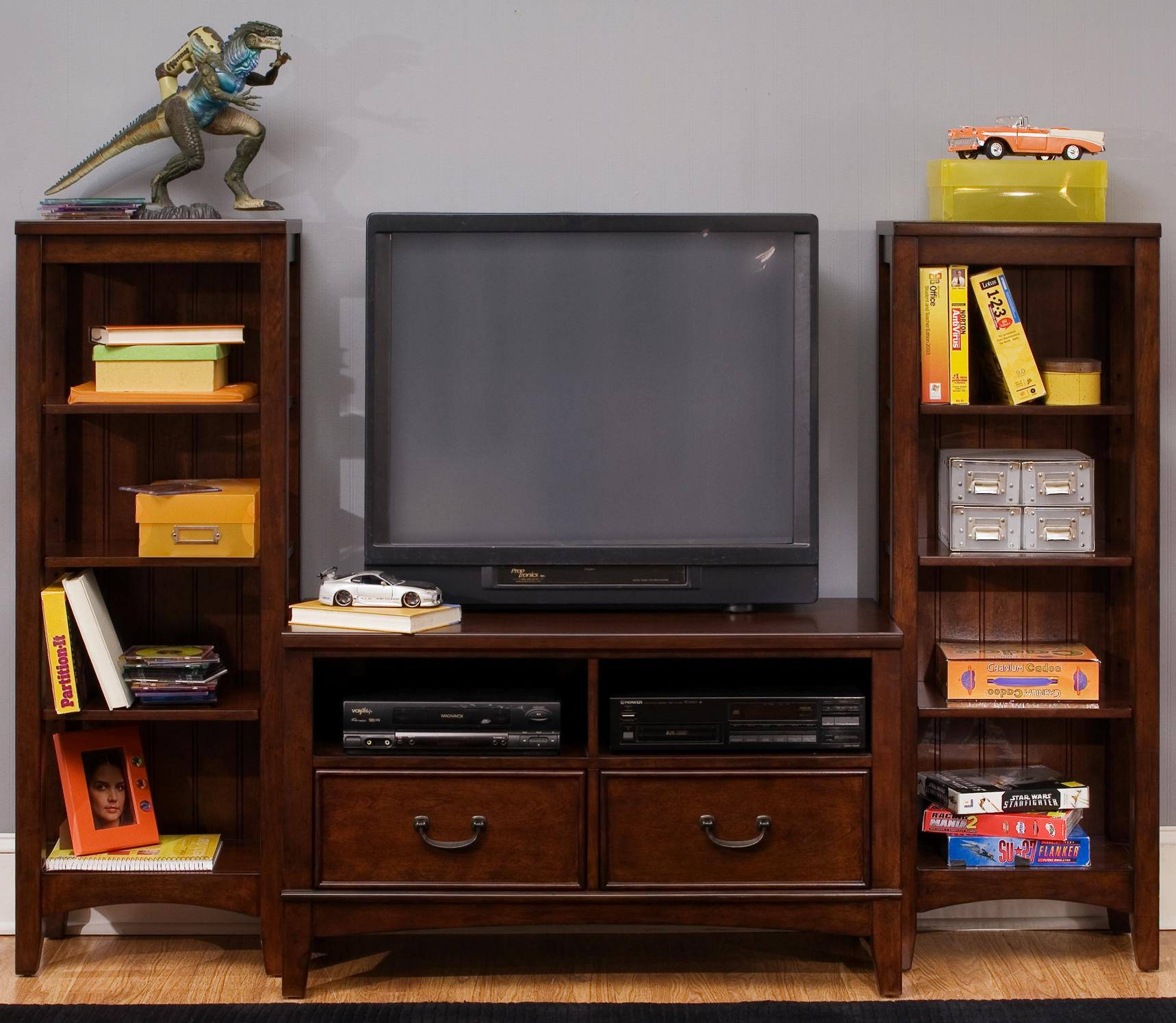 Liberty Furniture Chelsea Square Youth Wall Unit - Item Number: 628-YBR-SET92