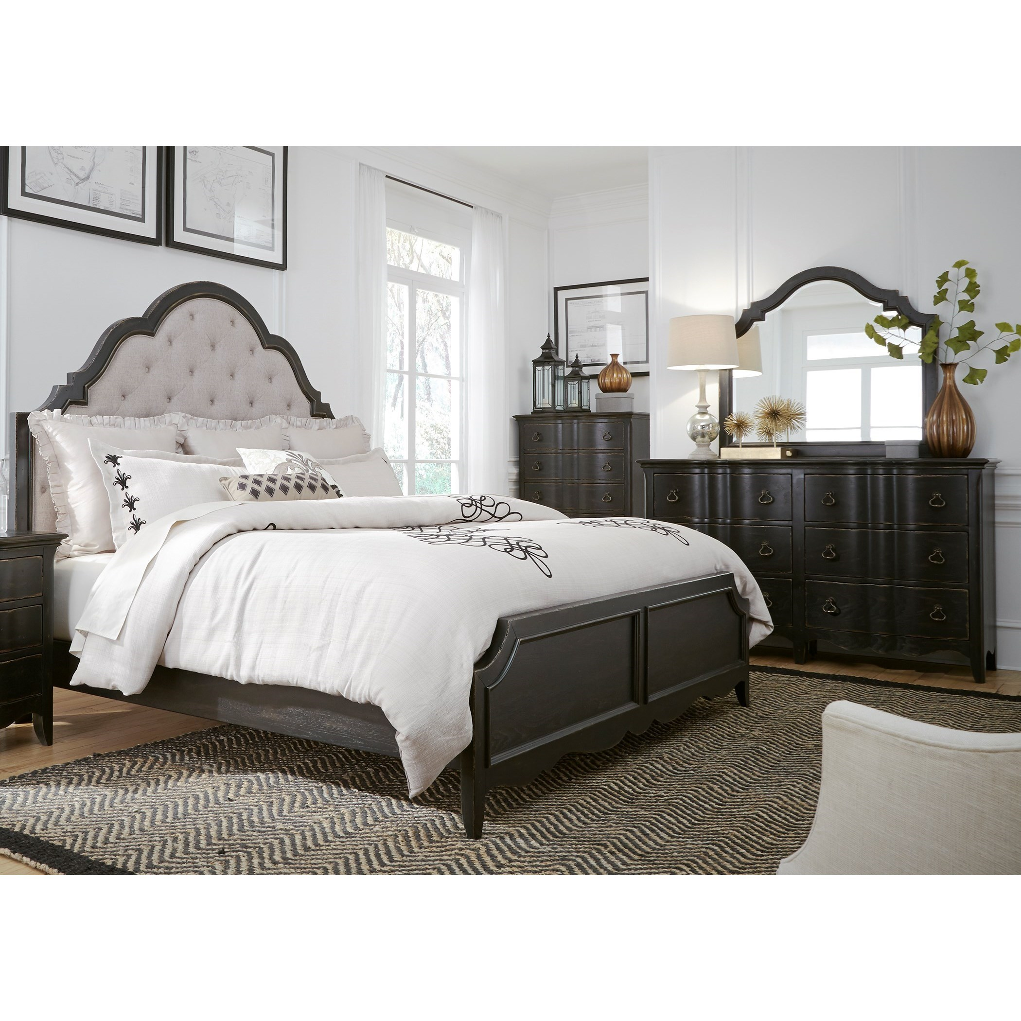 Liberty Furniture Chesapeake Queen Bedroom Group Item Number 493 Br Q