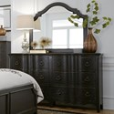 Liberty Furniture Chesapeake Dresser and Mirror Combo - Item Number: 493-BR-DM