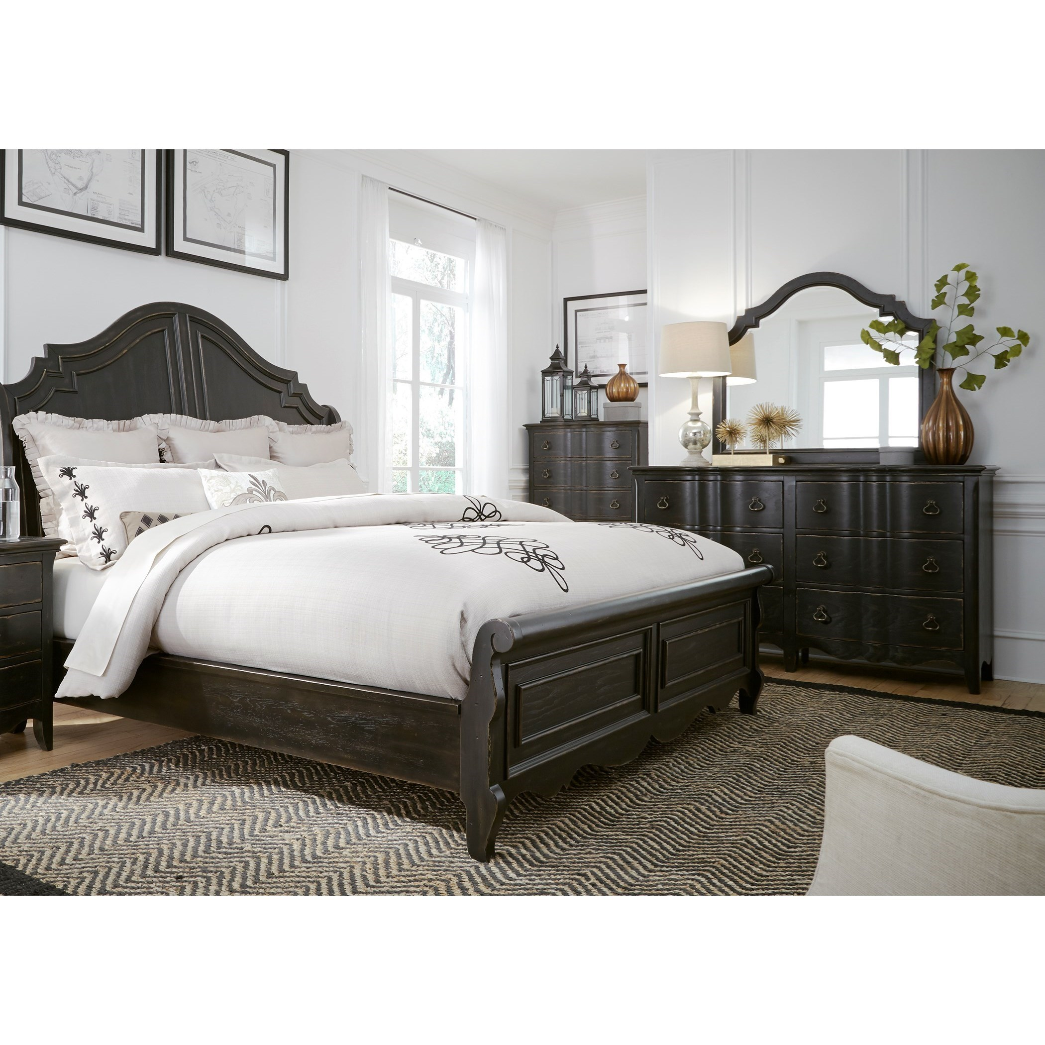 Chesapeake King Bedroom Group by Liberty Furniture at Standard Furniture