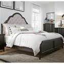 Sarah Randolph Designs Chesapeake Queen Upholstered Bed - Item Number: 493-BR-QUB