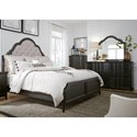 Liberty Furniture Chesapeake King Bedroom Group - Item Number: 493-BR-KUBDMC