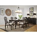 Liberty Furniture Chesapeake Dining Room Group - Item Number: 493-DR Dining Room Group 4