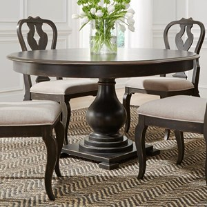 Liberty Furniture Chesapeake Round Pedestal Table