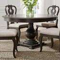 Liberty Furniture Cranborne Round Pedestal Table - Item Number: 493-DR-PDS