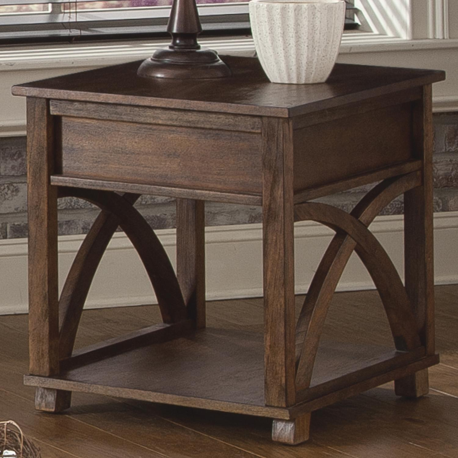 Liberty Furniture Chesapeake Bay Rectangle End Table - Item Number: 335-OT1020