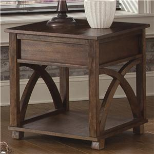 Vendor 5349 Chesapeake Bay Rectangle End Table