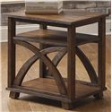 Liberty Furniture Chesapeake Bay Chair Side Table - Item Number: 335-OT1021