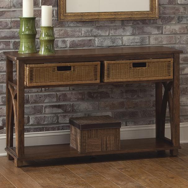 Liberty Furniture Chesapeake Bay Basket Sofa Table - Item Number: 335-OT1030