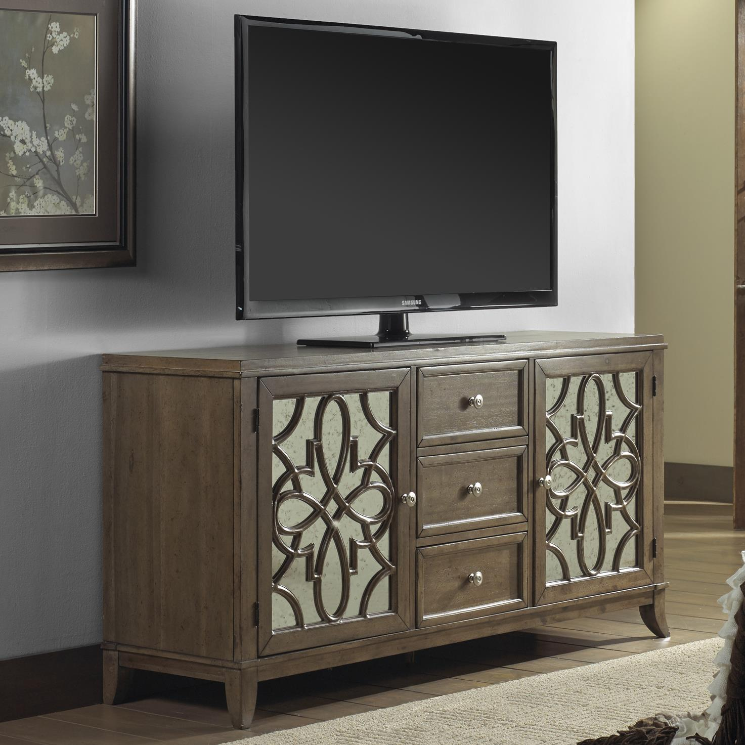 Liberty Furniture Claiborne Entertainment TV Console - Item Number: 552-TV