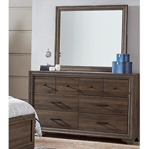 Liberty Furniture Clarksdale Dresser & Mirror