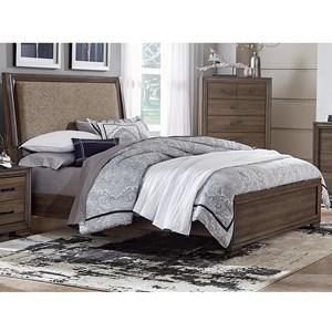 Liberty Furniture Clarksdale King Upholstered Bed