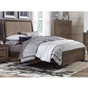 Liberty Furniture Clarksdale King Upholstered Bed  - Item Number: 445-BR-KUB