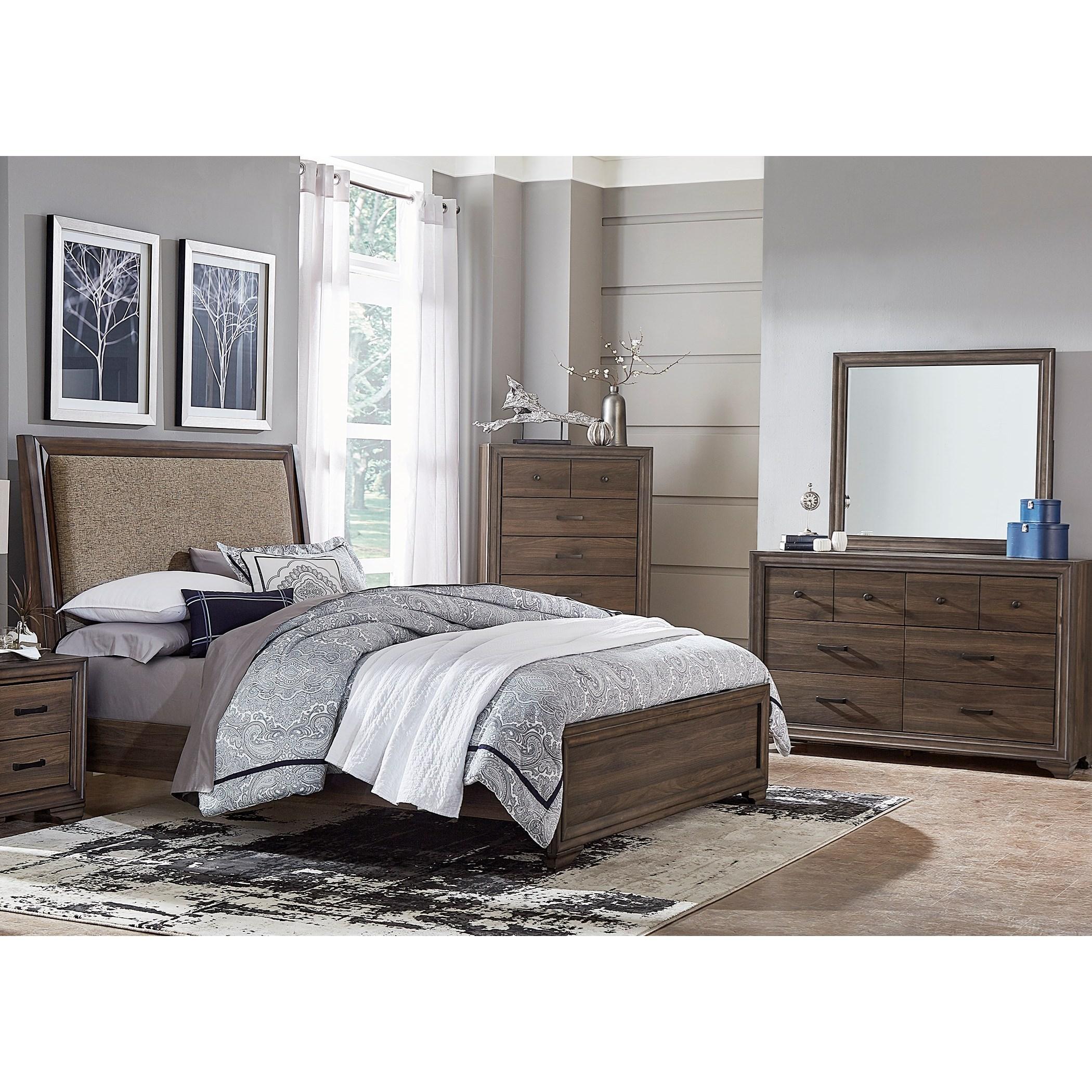 Liberty Furniture Clarksdale Queen Bedroom Goup - Item Number: 445-BR-QUBDM