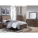 Liberty Furniture Clarksdale Queen Bedroom Group - Item Number: 445-BR-QUBDMC