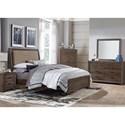 Liberty Furniture Clarksdale Queen Bedroom Group - Item Number: 445-BR-QUBDMCN