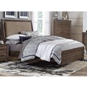 Liberty Furniture Clarksdale Twin Upholstered Bed  - Item Number: 445-BR-TUB