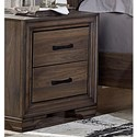 Liberty Furniture Clarksdale 2 Drawer Night Stand - Item Number: 445-BR61