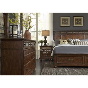 Liberty Furniture Coronado Bedroom Queen Bedroom Group 1