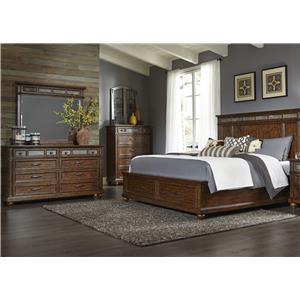 Liberty Furniture Coronado Bedroom Queen Bedroom Group 7