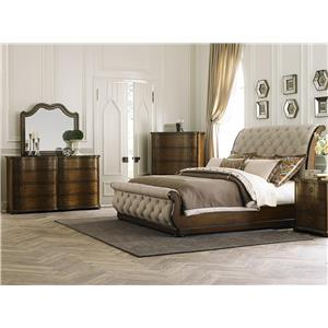Liberty Furniture Cotswold  4 Piece King Bedroom Group