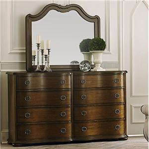 Liberty Furniture Cotswold  Dresser and Mirror
