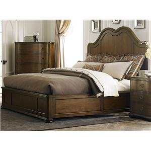 Vendor 5349 Cotswold  Queen Panel Bed