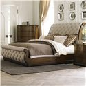 Liberty Furniture Carrington Queen Sleigh Bed - Item Number: 545-BR-QSL