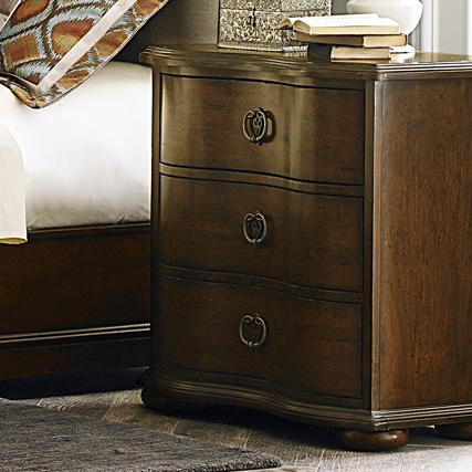 Liberty Furniture Cotswold  3 Drawer Nightstand - Item Number: 545-BR61