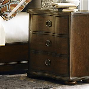 Vendor 5349 Cotswold  3 Drawer Nightstand