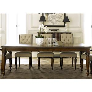 Liberty Furniture Cotswold  Rectangular Leg Table