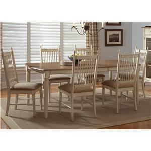 Liberty Furniture Cottage Cove 7-Piece Rectangular Table Set