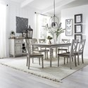 Liberty Furniture Cottage Lane Dining Room Group - Item Number: 350 Dining Room Group 2