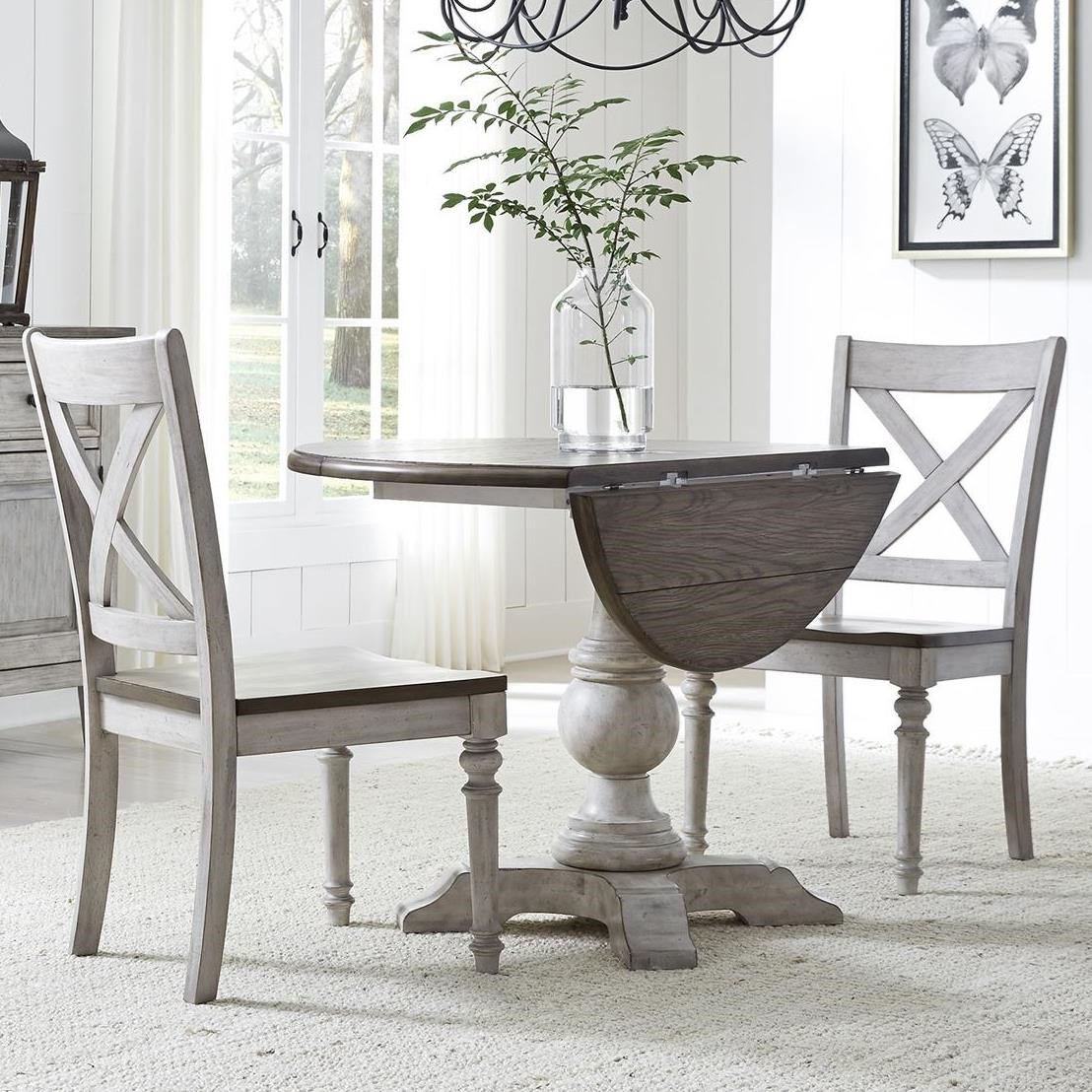 Cottage Lane 3-Piece Drop Leaf Set by Liberty Furniture at Northeast Factory Direct