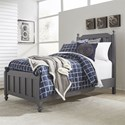 Vendor 5349 Cottage View Twin Panel Bed - Item Number: 423-YBR-TPB