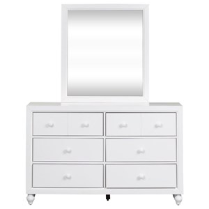 Liberty Furniture Cottage View Dresser and Mirror