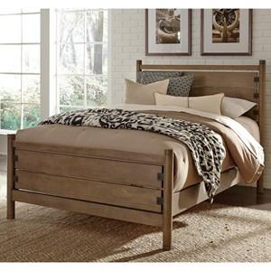 Liberty Furniture Cottonwood Creek Twin Poster Bed