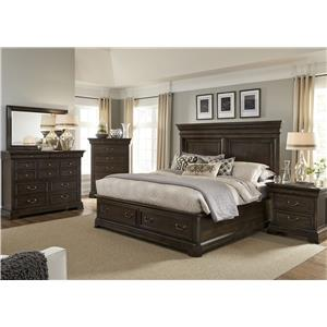 Liberty Furniture Country Estate Queen Bedroom Group 3