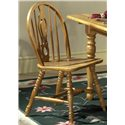 Vendor 5349 Country Haven Windsor Side Chair - Item Number: 85-C1465S