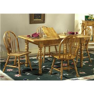 Vendor 5349 Country Haven Five Piece Dining Set