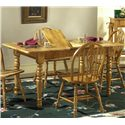 Liberty Furniture Country Haven Butterfly Leaf Leg Table - Item Number: 85-T1576