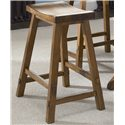 Liberty Furniture Creations II 30 Inch Sawhorse Barstool - Item Number: 38-B1830