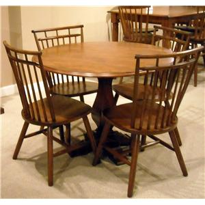 Vendor 5349 Creations II 5 Piece Dining Table and Chair Set