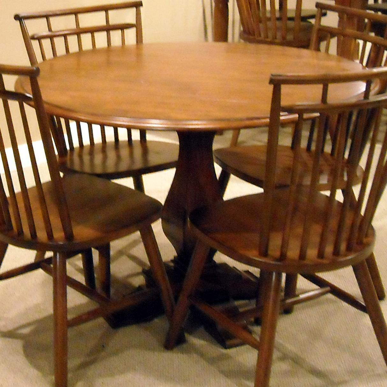 Liberty Furniture Creations II Drop Leaf Pedestal Table - Item Number: 38-P4242+T4242