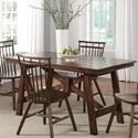 Liberty Furniture Creations II Rectangular Trestle Table