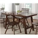 Liberty Furniture Creations II 5PC Dining Table & Chair Set - Item Number: 38-T3260+4X-C4000S