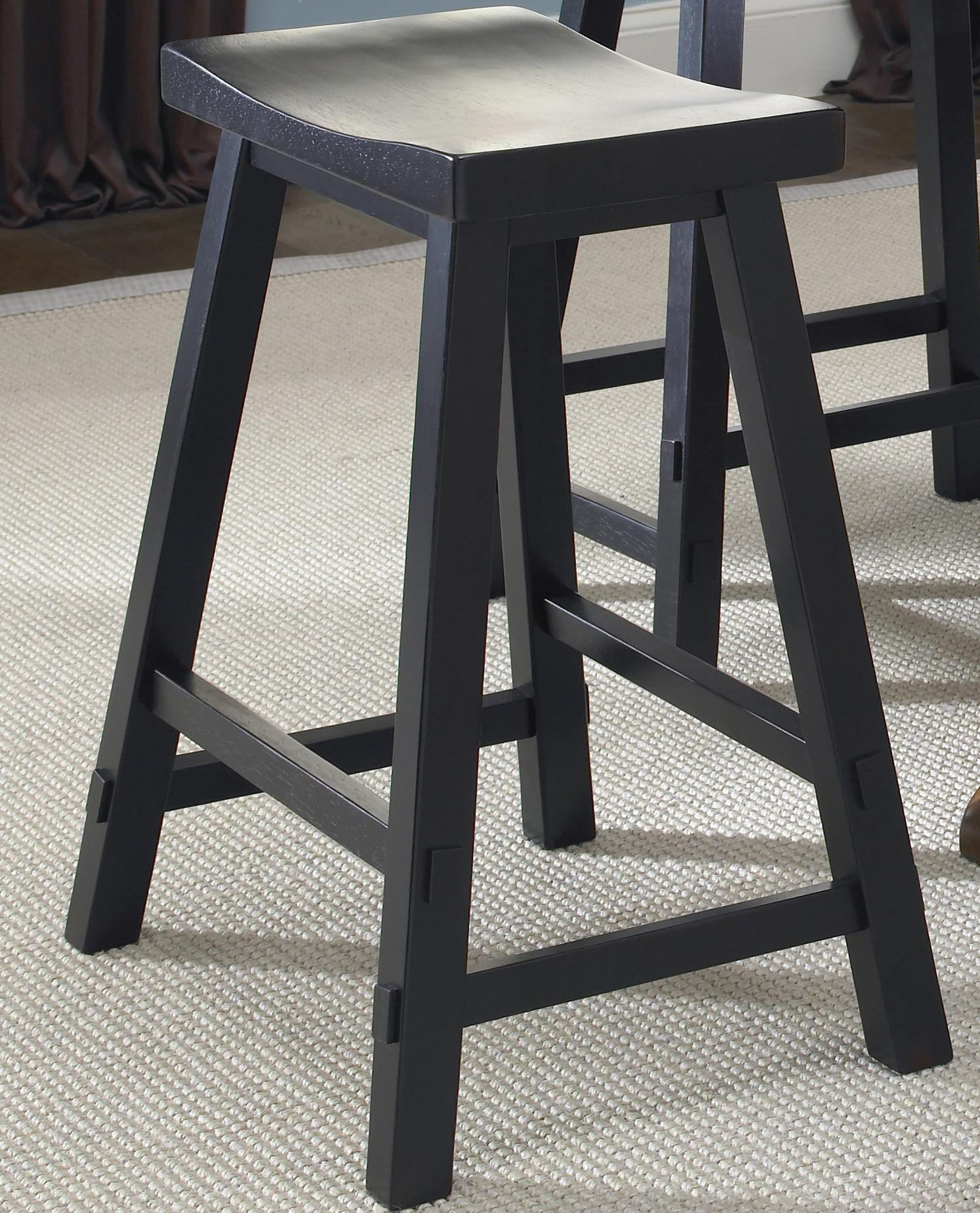 Liberty Furniture Creations II 30 Inch Sawhorse Barstool - Item Number: 48-B1830