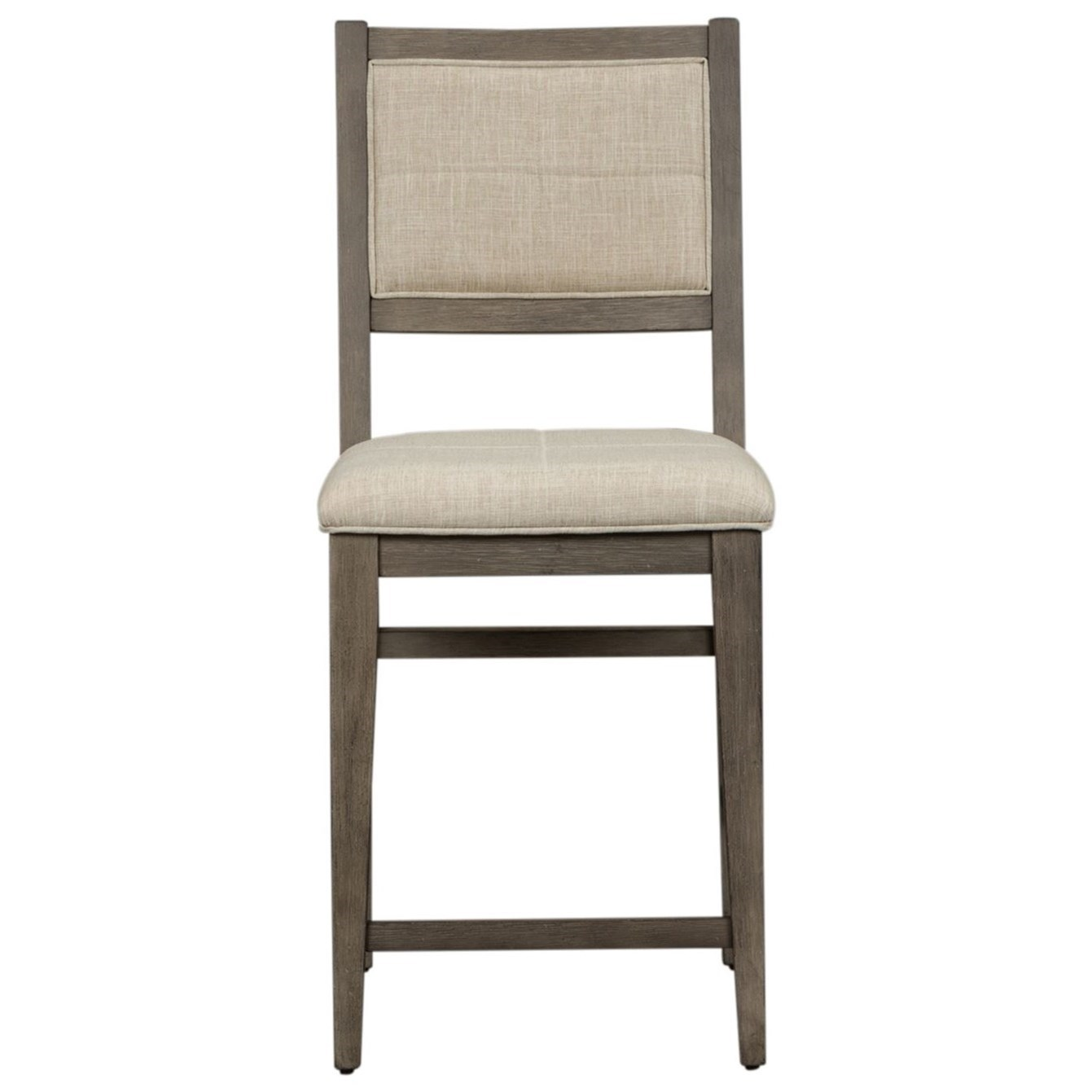 Crescent Creek Upholstered Counter Height Chair (RTA) by Libby at Walker's Furniture