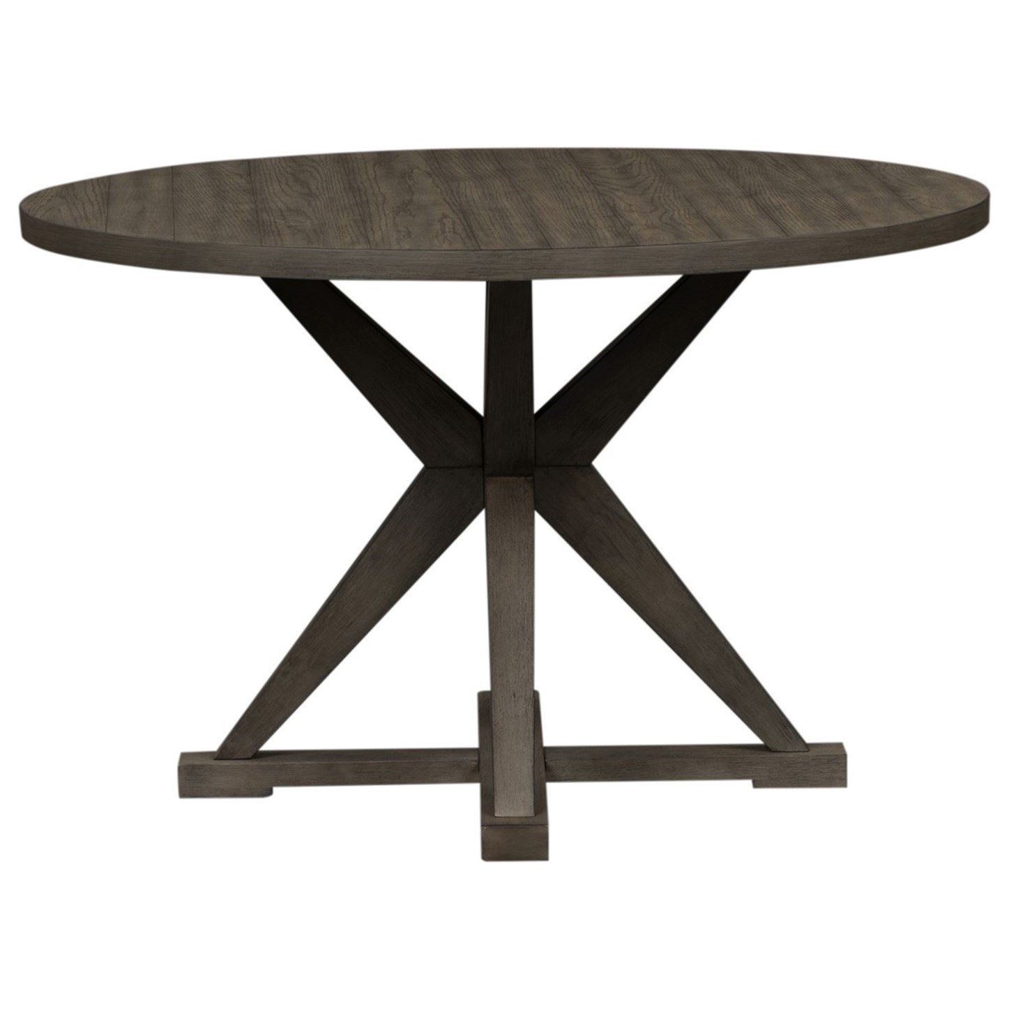 Crescent Creek Round Pedestal Table by Libby at Walker's Furniture